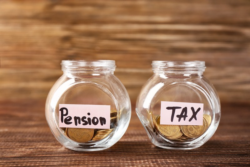 Covering pension contributions with unused allowances